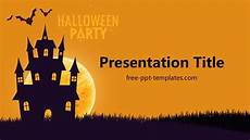 Halloween Power Point Template Halloween Party Ppt Template