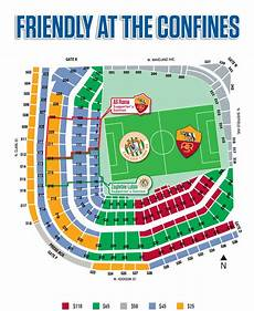Wrigleyville Seating Chart Soccer At Wrigley Field Chicago Cubs
