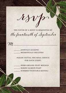 Rsvp Cards Examples Wedding Rsvp Wording And Card Etiquette 2019 Shutterfly