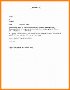 Departure Letter To Employer 5 Salary Increase Letter To Employer Sales Slip Template