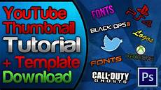 Youtube Thumbnail Templates Youtube Custom Thumbnail Tutorial Amp Free Template Download