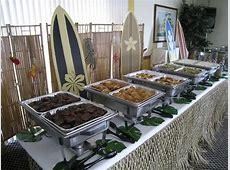 Wedding Luau Buffet Table Deco   Yelp