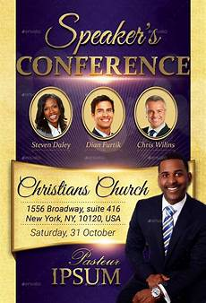 Church Flyer Conference Church Flyer Design And Template