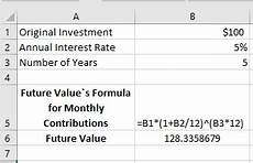 Monthly Compound Interest Formula How To Use Compound Interest Formula In Excel Exceldemy