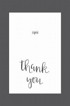 Free Thank You Templates Free Printable Quot Thank You Quot Card Instant Download