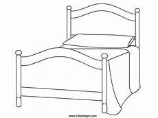 disegni da letto letto disegno da colorare tuttodisegni