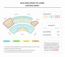 Luxor Hotel Theater Seating Chart Blue Man Theater At Luxor Seating Chart Best Seats