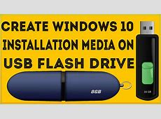 How To Create Windows 10 Bootable USB from ISO Image File