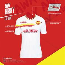 Joma Jersey Size Chart Original Joma Selangor 3rd Jersey White Color Fans Issue