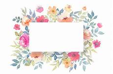 Blank Name Card Template Free Psd Floral Blank Card Template