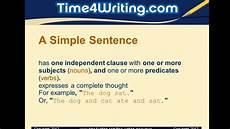 Simple Compound Complex Sentences Simple Compound Amp Complex Sentences Quiz Youtube