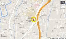 peta lokasi kongres penghuni rumah susun indonesia