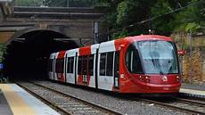 Light Rail Sydney Trackwork The Sydney Light Rail Central Lilyfield Youtube