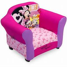 minnie mouse upholstered sofa chair with cushion pads for