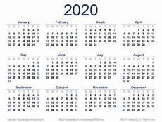 Vertex42 Calendar 2020 Download A Free 2020 Calendar From Vertex42 Com