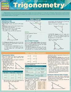 Quick Study Charts Pdf Barcharts Trigonometry Quick Study Guide Mathematics