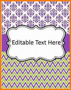 Editable Cover Page 6 Editable Binder Cover Templates Ledger Review