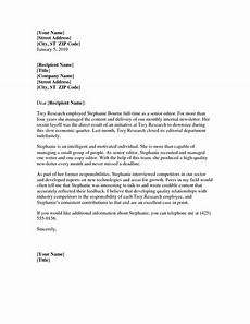 Professional Letter Template Professional Reference Letter Template Word Business