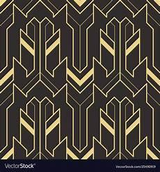 Art Deco Vector Art Deco Pattern Seamless Royalty Free Vector Image
