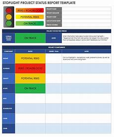 Team Status Report Template How To Create An Effective Project Status Report Smartsheet