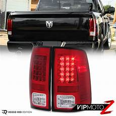 Ram 1500 Light Assembly For 13 18 Dodge Ram 1500 2500 3500 Truck Red Led