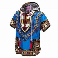 Dashiki Tops Designs Just No Logo African Dashiki Unisex Traditional Hoodie Top
