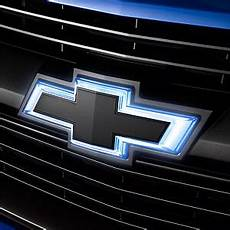 Lighted Chevy Bowtie Grille Emblem 84154346 2017 2019 Chevy Colorado Oem Black Illuminated