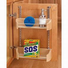 rev a shelf wood storage trays with adjustable rail system
