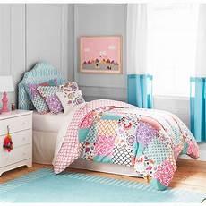 floral patchwork 4 bedding comforter set