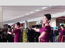Pramugari Sriwijaya Air & NAM Air Heboh Flashmob Di