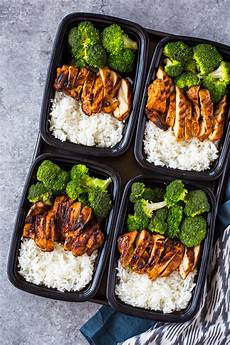 20 minute meal prep chicken rice and broccoli gimme