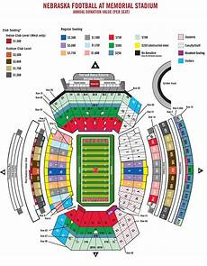 Nebraska Cornhuskers Stadium Seating Chart Nebraska Football Season Ticket Map Huskers Com
