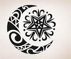 Moon And Stars Design Celtic Moon And Star Moon Sun Celtic Moon