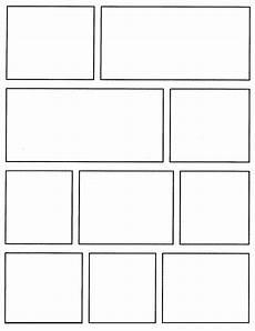 Blank Comic Book Panels Comic Book Template Pdfcomic Template Viewing