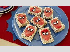 Spider Man? Cereal Bars Recipe   BettyCrocker.com