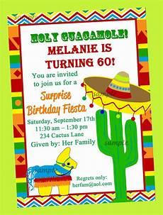 Fiesta Border Template Fiesta Party Invitation Printable Birthday By