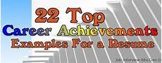 Career Achievements 22 Top Resume Achievements Examples Of Achievements In