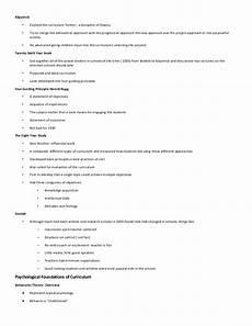 Essay On Curriculum Essays On Curriculum Theory