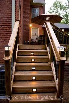 Cap Lights For Deck Images Of Craftsman Light Posts Highpoint Deck