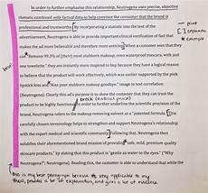 Rhetorical Analysis Essay Sample Writing A Rhetorical Analysis Of A Print Ad The Mmm