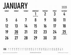 Calendar Print Out 2020 2020 Calendar Templates And Images