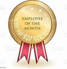 Employee Of The Month Award Employee Of The Month Award Stock Illustration Download