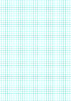 A4 Graph Paper Download Printable Graph Paper With Four Lines Per Inch On A4 Sized