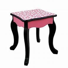 teamson fashion prints vanity table and stool
