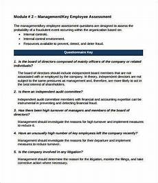 Company Assessment Template Employee Assessment 8 Free Pdf Word Documents Download