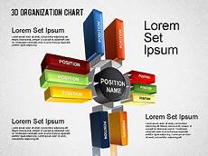 3d Organizational Chart 3d Organizational Chart Presentation Template For Google