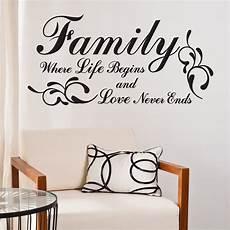 familie familie citater family where begins wallstickers fra nicewall dk