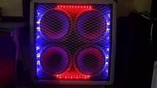 Amp Light Led Light Strips In A Custom Carvin Guitar Speaker Cabinet