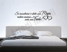 adesivi da parete da letto adesivi murali frase da letto decorazioni arredo