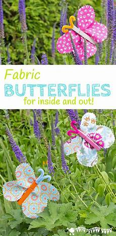 fabric clothespin butterflies crafts for